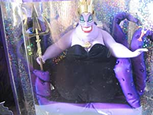 Disney The Little Mermaid SEA WITCH URSULA Doll - Limited Edition Great Villains Collection (1997)