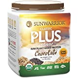 Classic Plus Raw Organic Protein Powder, Chocolate 1.1 lbs