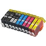 10 Druckerpatronen kompatibel für HP 364 XL 364XL Set mit neuem Chip und Füllstandsanzeige