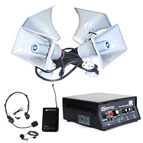 Amplivox Sw314 Sound Crusier Quad Wireless (Sw314)