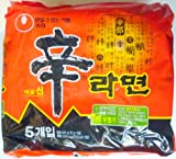 農心 辛ラーメン(韓国版) 5袋入