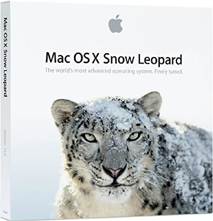 MAC OS X 10.6.3 SNOW LEOPARD RETAIL