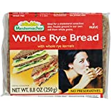 Mestemacher Whole Rye Bread, 8.8-Ounce Packages (Pack of 11)