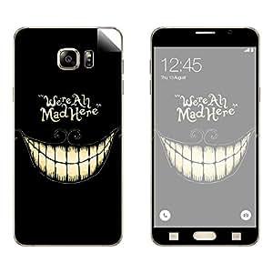 Skintice Designer Vinyl Skin Sticker for Samsung Galaxy Note5, Design - Mad Here