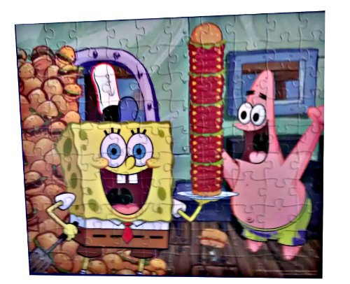 Spongebob Squarepants 100 Piece Jigsaw Puzzle (1 Box)