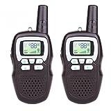 Feichen Niños Walkie-talkies Portátil Radio de Juguete Radio Transmisor 1 par