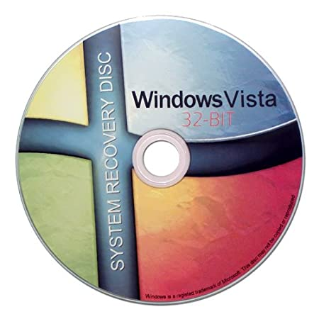 Windows Vista 32 Bit Recovery Boot Disc Disk CD [ALL VERSIONS, ULTRA EDITION]