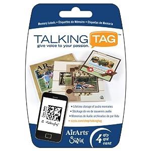 Sizzix - Air Arts - Talking Tag Audio Memory Labels - 20 Pack