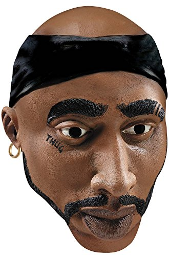 [Rubie's Costume Co Famous Faces L.A. Thug Costume] (Thug Life Halloween Costumes)