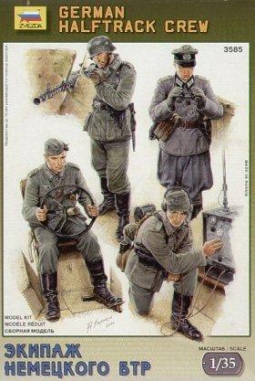 Zvezda 1:35 German Halftrack Crew