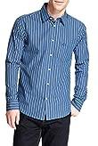 Pure Cotton Striped Shirt [T25-5271B-S]