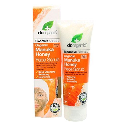 Dr.Organic Manuka Honey Scrub Viso 125 ml