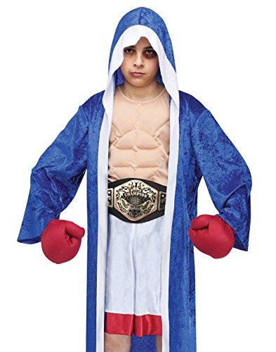 Big Boys' Lil' Champ Boxer Costume Medium (8-10) (Lil Boy Belts compare prices)