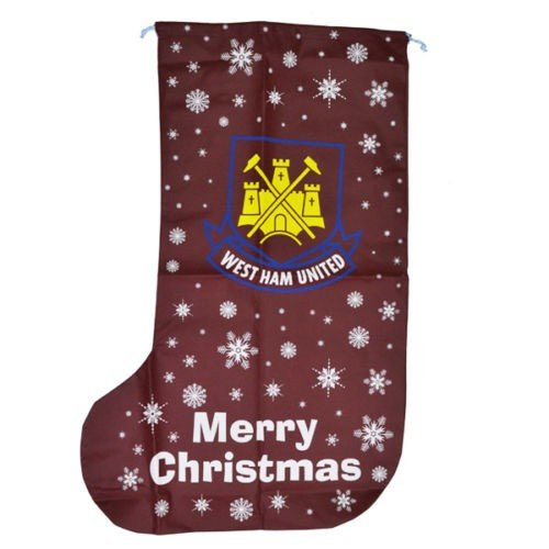 weihnachtsstrumpf west ham united one size kastanie. Black Bedroom Furniture Sets. Home Design Ideas