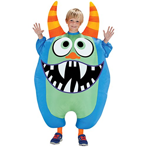 Scareblown (Green) Inflatable Child Costume Size Standard