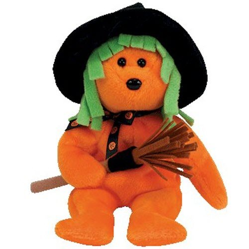 Ty Beanie Babies Spells - Halloween Bear (Ty Store Exclusive)