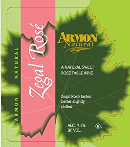 NV Armon Zegal Rose New York Rosé 750 mL