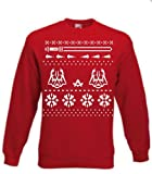 Red Christmas Evil Star Master Jumper Galaxy Wars Sweater Medium