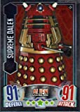 Doctor Who Alien Attax Topps - Mirror Foil 022 Supreme Dalek