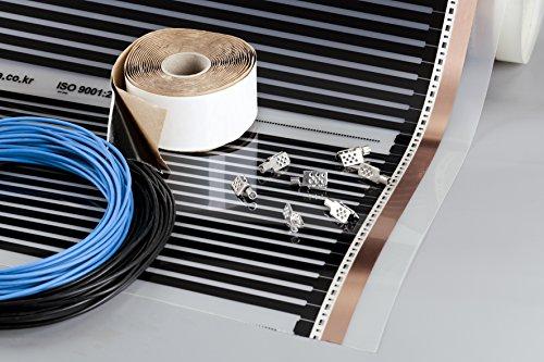 produkte heating floor 19m2. Black Bedroom Furniture Sets. Home Design Ideas