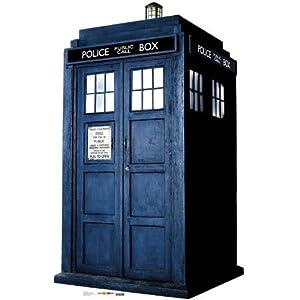 The Tardis Doctor Who Lifesize Standup Poster