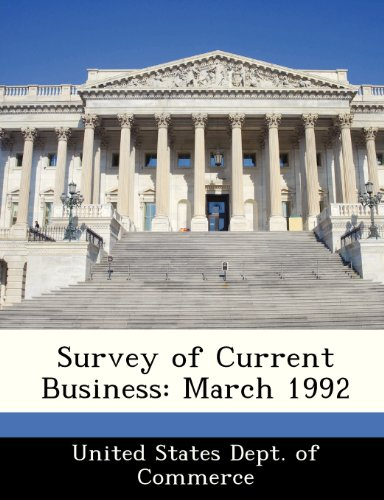 Survey of Current Business: March 1992