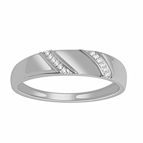 Rings-MidwestJewellery.Com Men's Rings White Gold