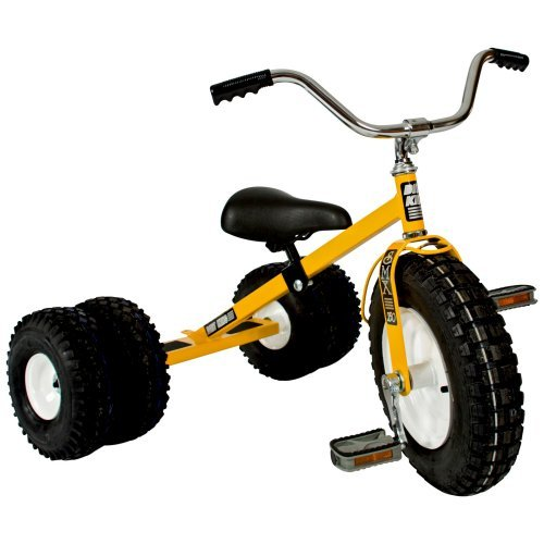 Dirt King Child's Dually Tricycle YELLOW