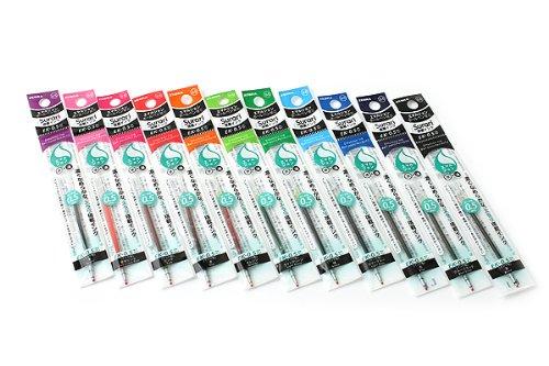 Zebra Surari EK-0.5 Emulsion Ink Multi Pen Refill - 0.5 mm - Red