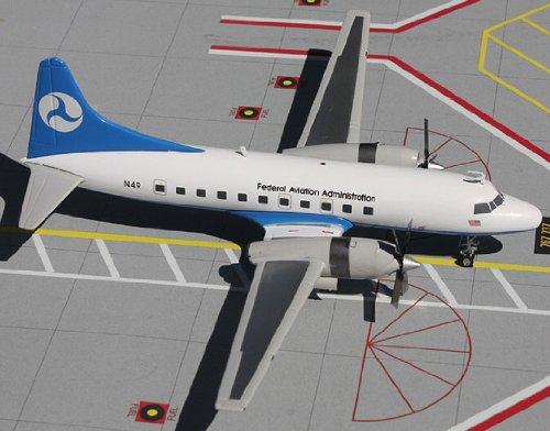 1: 200 ジェミニジェット Federal Aviation Administration CV-580 (並行輸入)