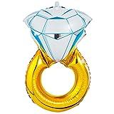 CA Mode(JP) ウエディングリング フラワー バルーン ギフト アレンジメントタイプ 結婚祝い用 バルーン