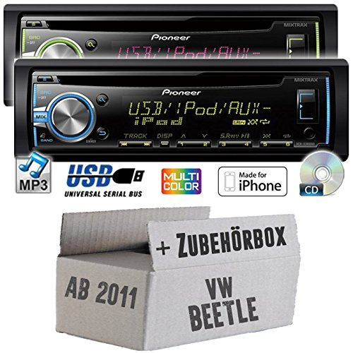- VW beetle 2 5C pioneer dEH-x3800UI-cD/mP3/uSB avec kit de montage