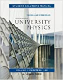 University Physics, Volume 1 Student Solutions Manual