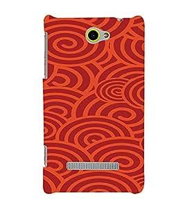 PrintVisa Colorful 3D Stripes Pattern 3D Hard Polycarbonate Designer Back Case Cover for HTC Windows Phone 8