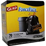 Glad ForceFlex X-Large Trash Bags - 70ct./ 33 gal.