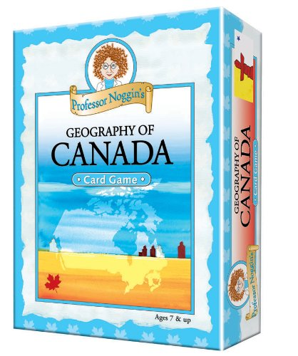 Educational Trivia Card Game - Professor Noggin's Geography of Canada