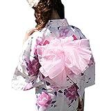 「なでしこ」ふわふわラインストーン付き金魚プチへこ帯(Fサイズ,ピンク)