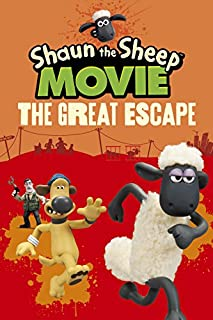 Book Cover: Shaun the Sheep movie. The great escape