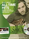 Various Play it Right All-Time Hits Guitar Book/DVD