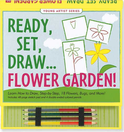 Ready, Set, Draw Flower Garden! (How to Draw Activity Book) (Young Artist) (How To Draw The Garden compare prices)