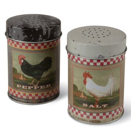 Ohio Wholesale Rooster Salt & Pepper
