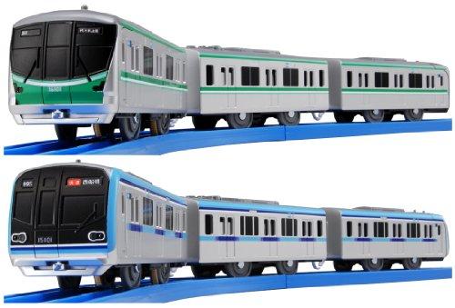 tokyo-metro-tozai-line-chiyoda-line-double-set-tomica-plarail-model-train-japan-import