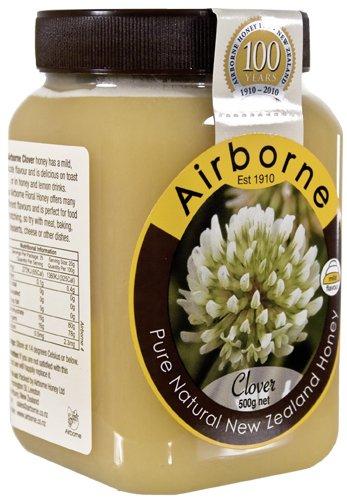 Airborne - New Zealand Clover Creamed Honey 500g / 18oz