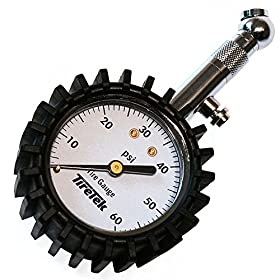 TireTek Premium Tire Pressure Gauge - Large Dial