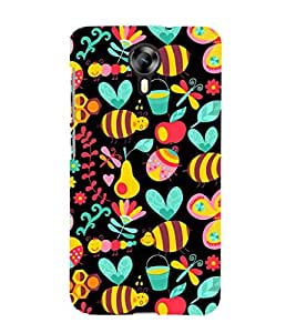 EPICCASE honey bee Mobile Back Case Cover For Micromax Canvas Express-2 (Designer Case)