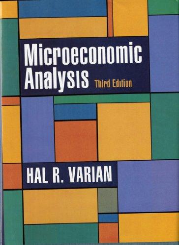 Microeconomic Analysis, Third Edition