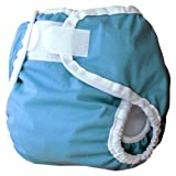 Thirsties Diaper Cover- Ocean, Medium (18-28 lbs)