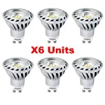 Xpeoo� Pack de 6 GU10 LED Dimmable d'...