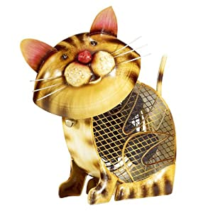 Deco Breeze DBF2011 Figurine Fan, Country Cat