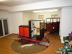 Große Gartenbahn zur Personenbeförderung 15 Zoll / Big garden railroad for passenger transport 15 inch